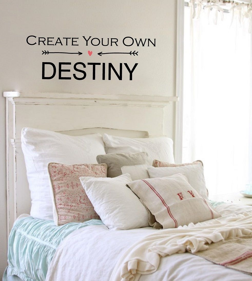 Creat your own destiny Inspirational Quotes Pinterest