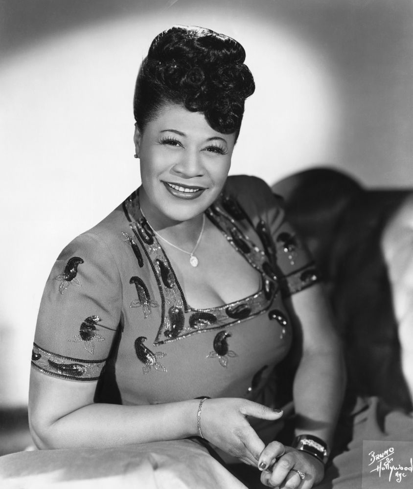 Ella Fitzgerald one of  the faces of the Harlem Renaissance