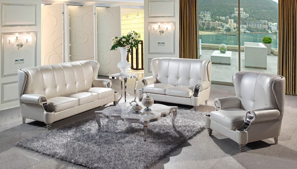 Find More Living Room Sofas Information About Cow Genuine Leather Sofa Set  Living Room Furniture Couch Sofas Living Room Sofa Sectional/corner Sofau2026