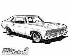 Resultado De Imagen Para Dibujos Coche Chevy Dibujos De Autos