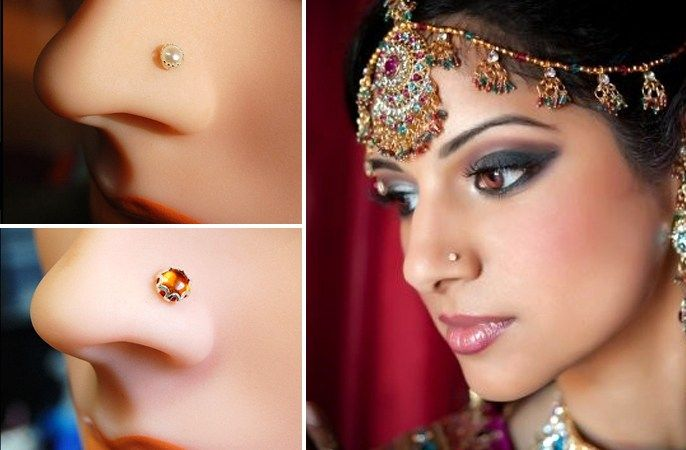 The Nosy Affair Bridal Nose Pins Designs of 13 Different Indian