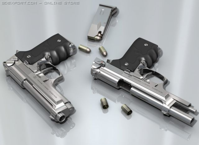 Pin Na Doske 3d Weapons