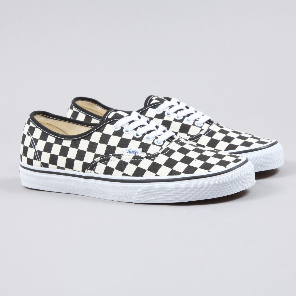 eb9545d1593b61 Vans Authentic Golden Coast - Black White Checker