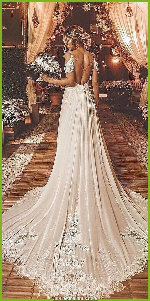 Einzigartige und Kreative schöne Brautkleider online eine Linie Brautkleider mit Spaghetti  robe dresses dresses beach dresses boho dresses lace dresses princess dre...