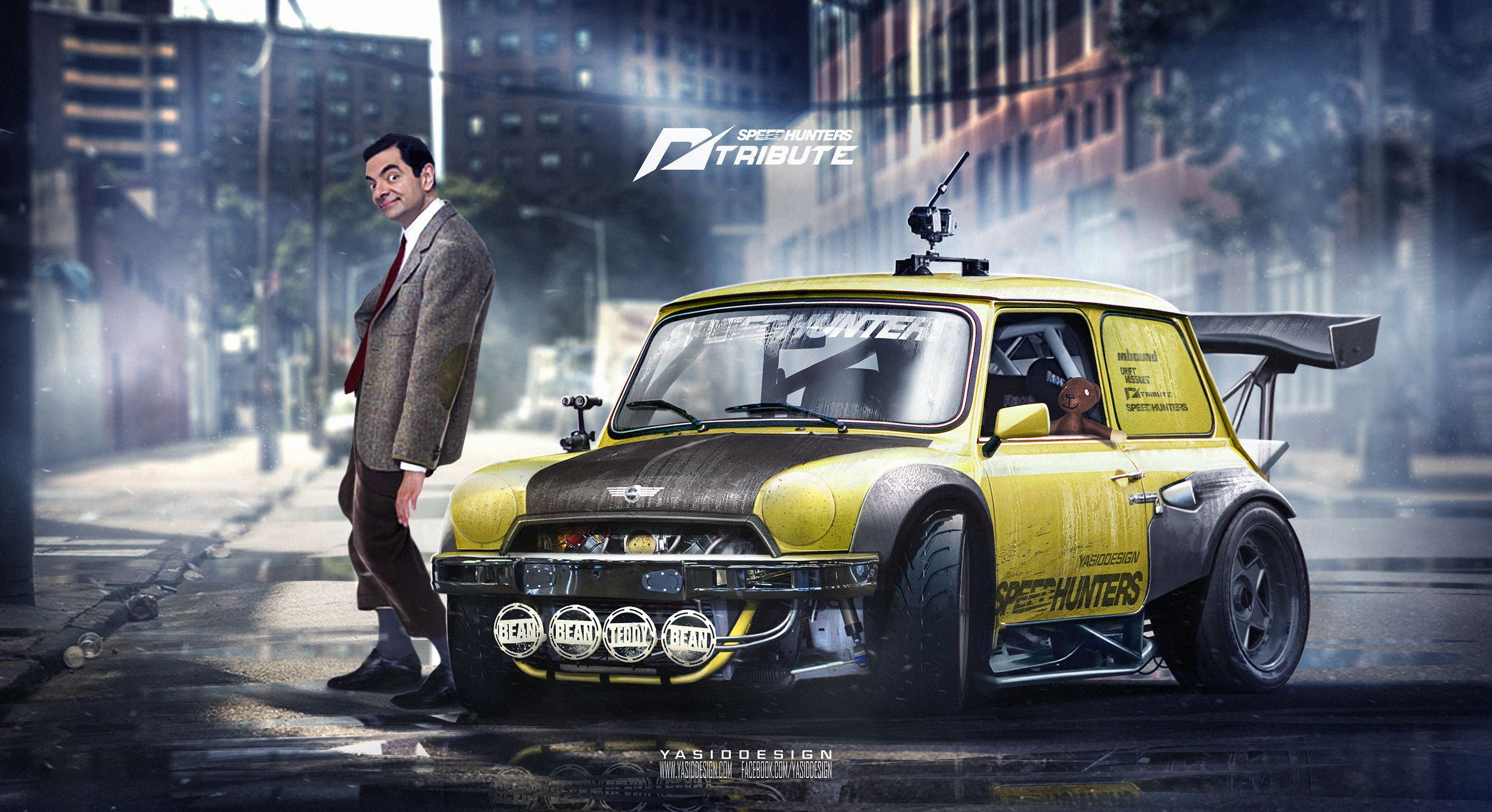 Speedhunters Mini Cooper Need For Speed Ft Bean By Yasiddesign On