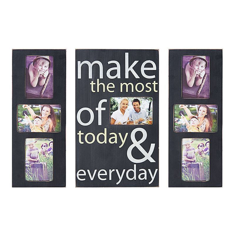 Melannco \'\'Everyday\'\' 7-Opening Collage Frame, Grey | Products ...