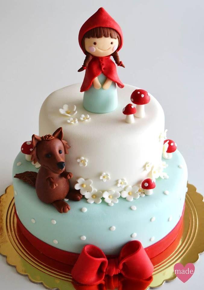 little red riding hood cake cake decor pinterest kuchen torten und geburtstag torte. Black Bedroom Furniture Sets. Home Design Ideas
