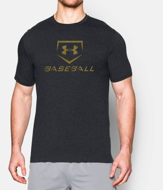 Mens ua baseball tshirt under armour us baseball