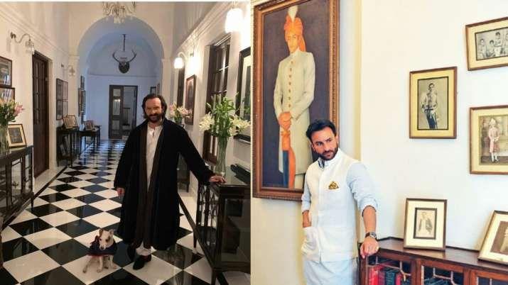 Take a tour inside Saif Ali Khan Kareena Kapoor's Pataudi ...