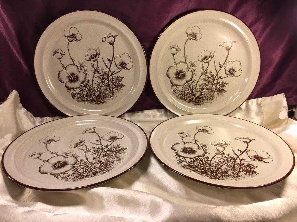 Noritake Stoneware Desert Flowers Dinner Plate Set 8341   eBay & Noritake Stoneware Desert Flowers Dinner Plate Set 8341   Desert ...