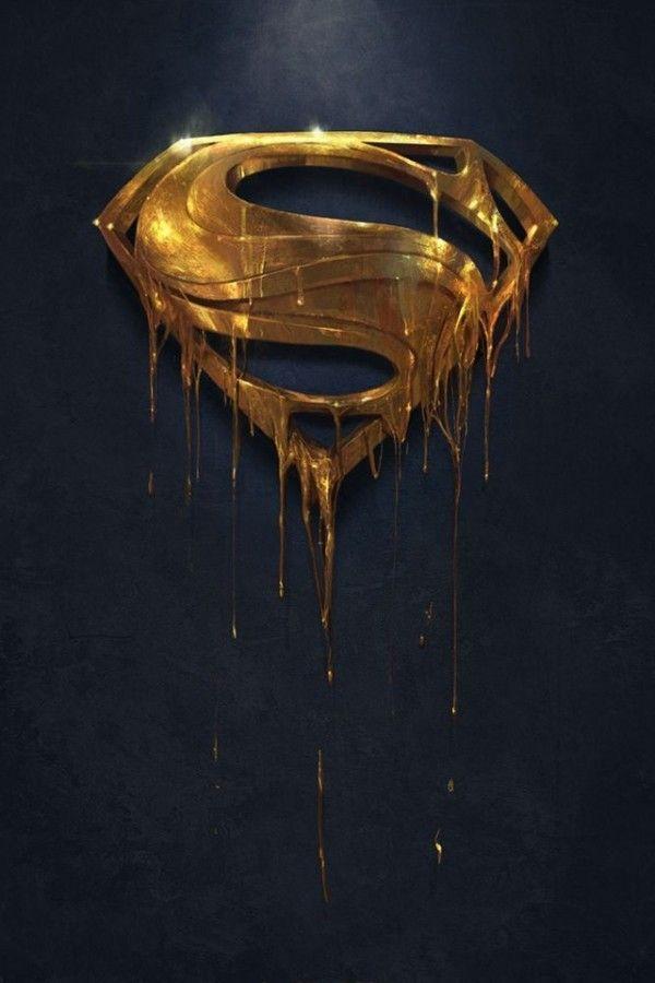 Golden Superman Iphone Wallpaper Hd Wallpaperterest Superman