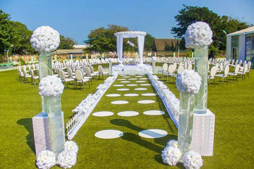 Beautiful   Wedding ceremony decorations outdoor, Outdoor ...