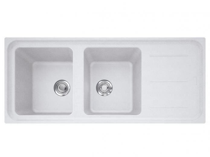 Franke Impact IMPACT GRAN DBL BWL W/DRAIN 0TH POLAR WH. Kitchen  AppliancesKitchen SinksDouble ...