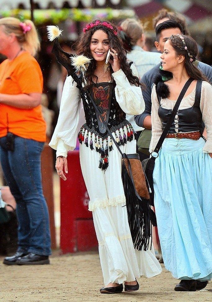 Vanessa Hudgens at the Renaissance Pleasure Faire - May 7th