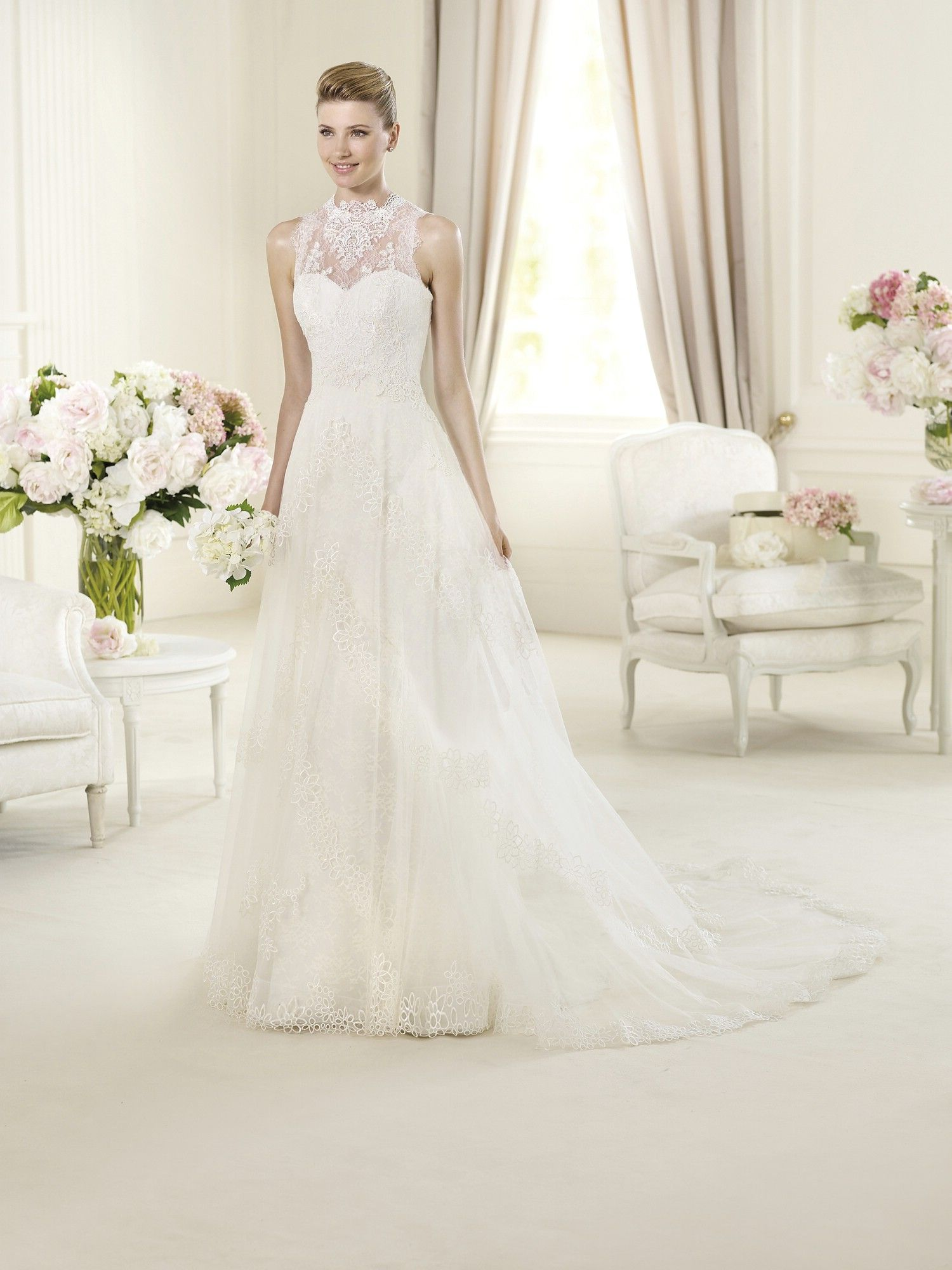 Buy Wedding Dress Pronovias Urundey 2013 At Cheap Price