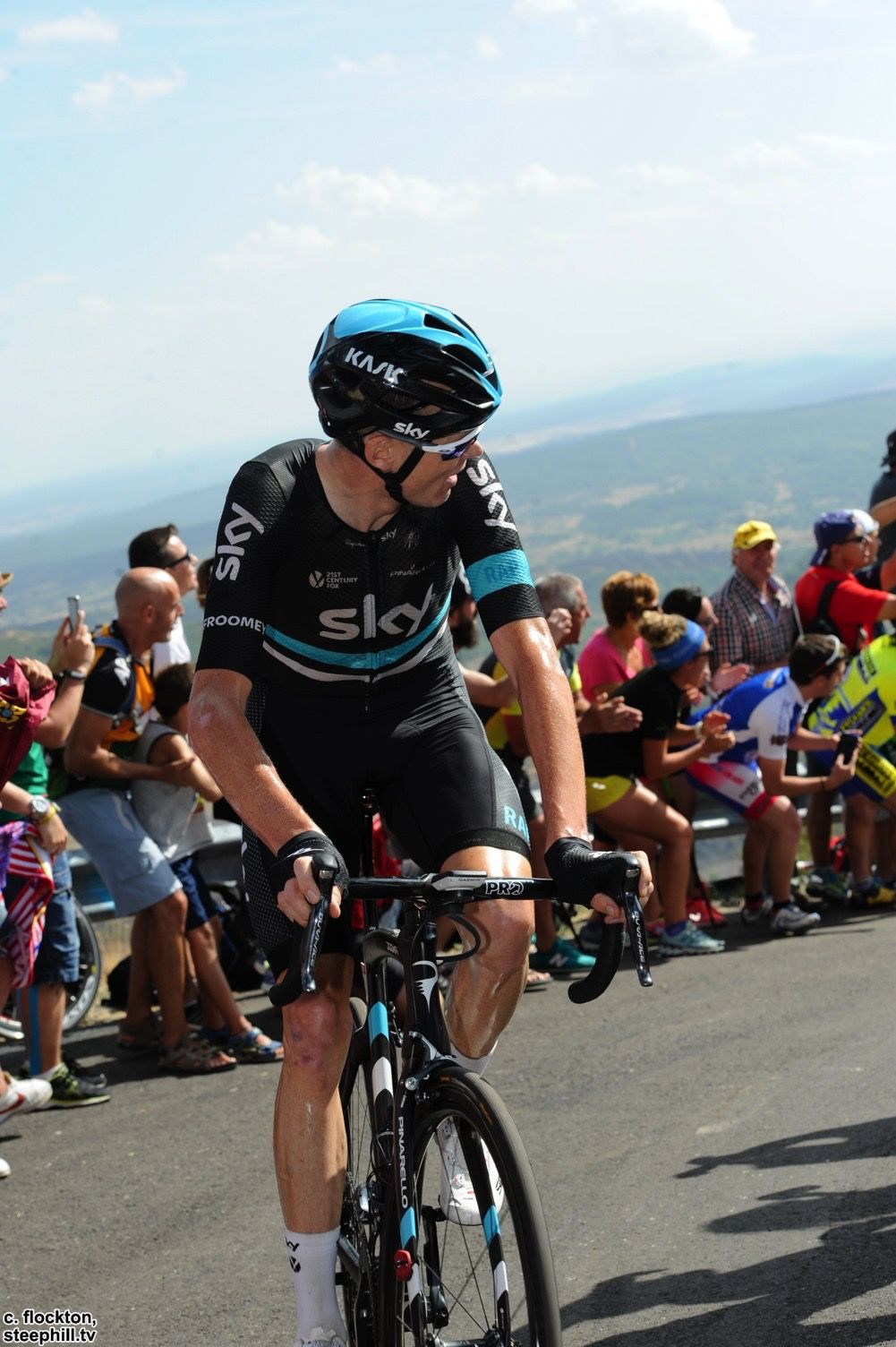 Chris Froome Stage 8 Vuelta a Espana 2016