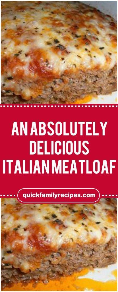 An Absolutely Delicious Italian Meatloaf Easyrecipe Delicious Foodlover Homecooking Italian Meatloaf Italian Sausage Recipes Ground Italian Sausage Recipes