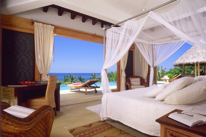 Another Master Bedroom,  All bedrooms have an ocean view and master style bath