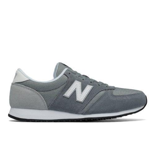 420 New Balance Classics Damens's Running Classics Balance Schuhes Grau Weiß Silver de458f