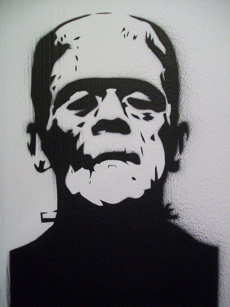 frankenstein__1937___stencil__by_stephenmerrigan-d4hxfs1.jpg (774 ...