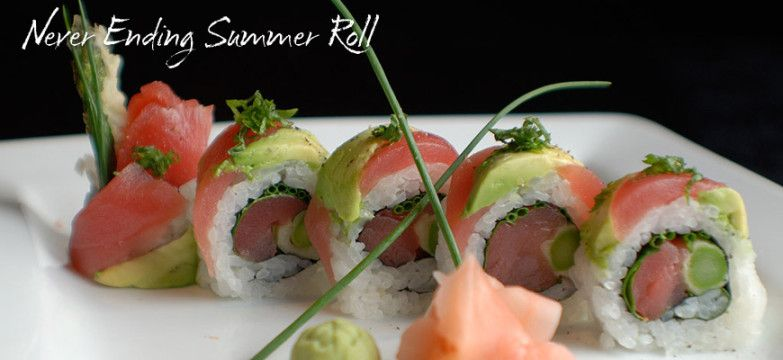 Never Ending Summer Roll From Origami Minneapolis Eat In