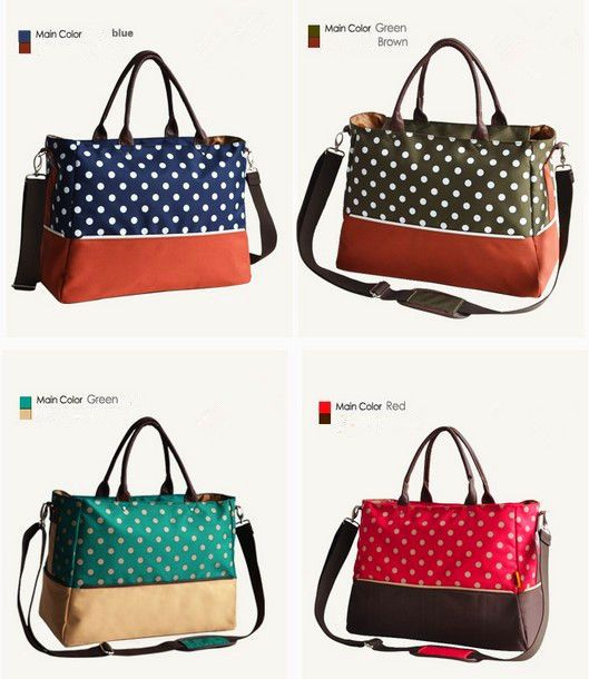 98d4c8268a1de NEW fashion Baby Diaper Nappy Changing Bag mummy Tote blue red green brown  green