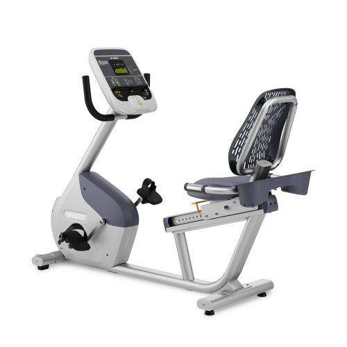 Precor Rbk 615 Commercial Series Recumbent Exercise Cycle Read