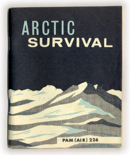 Arctic Survival, illustration, Pam (Air) 226, Pamirs, mountains, advertising,