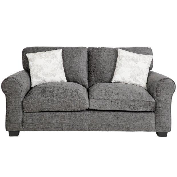 Buy Argos Home Tammy 2 Seater Fabric Sofa Charcoal Sofas Charcoal Sofa Fabric Sofa Sofa