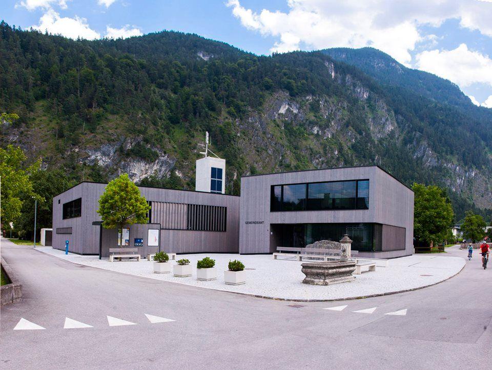 Lorüns - Feuerwehr und Gemeindeamt - AAZT Achammer Architektur
