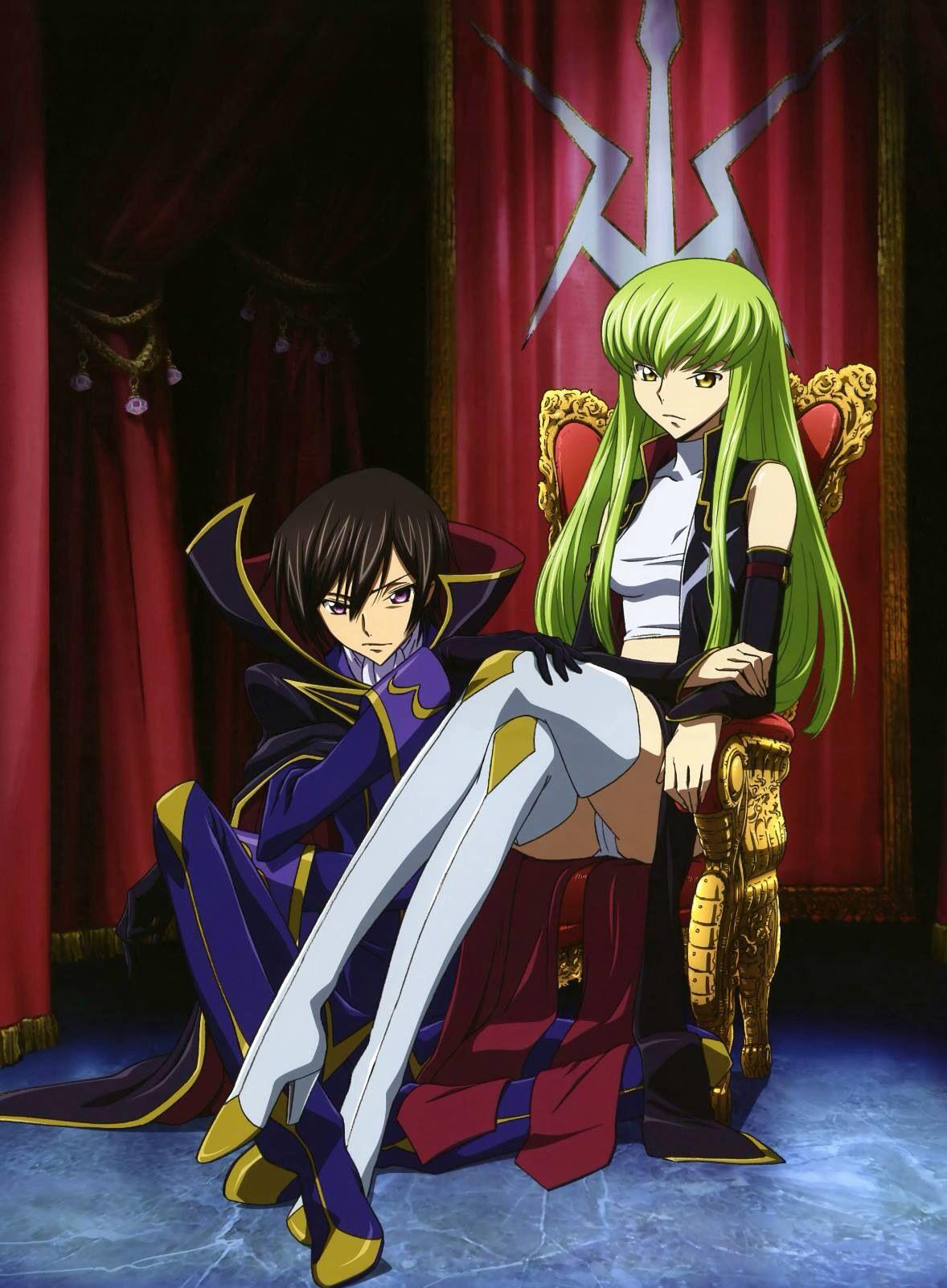 Lelouch and C2 Anime, Desenho de anime, Casal anime