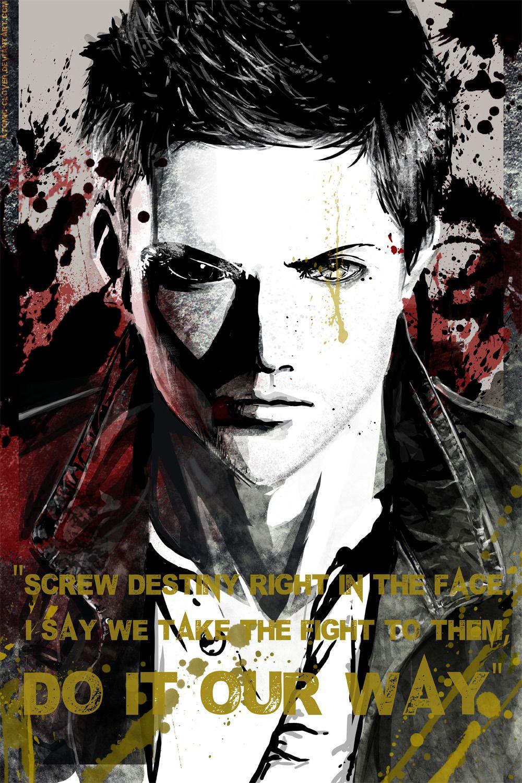 dean spn Supernatural drawings, Supernatural