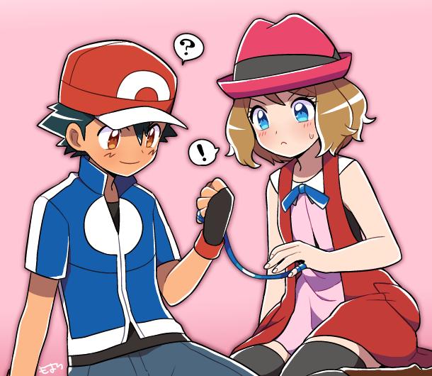 30 Ash And Serina Ideas Pokemon Ash And Serena Pokemon Pokemon Ships