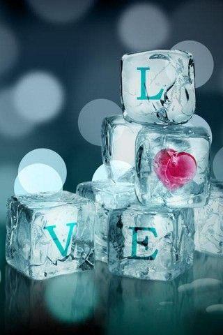Crystal Love Android Wallpaper Love Love Wallpaper Heart