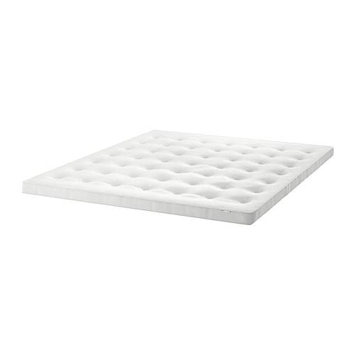 Dekmatras Ikea 160 X 200.Tustna Dekmatras Wit In 2019 Want Ikea Latex En Wol