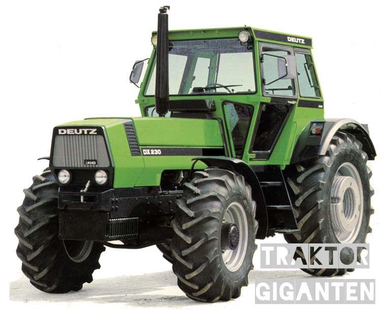 deutz fahr dx 230 mit 200 ps oldtimer traktor. Black Bedroom Furniture Sets. Home Design Ideas