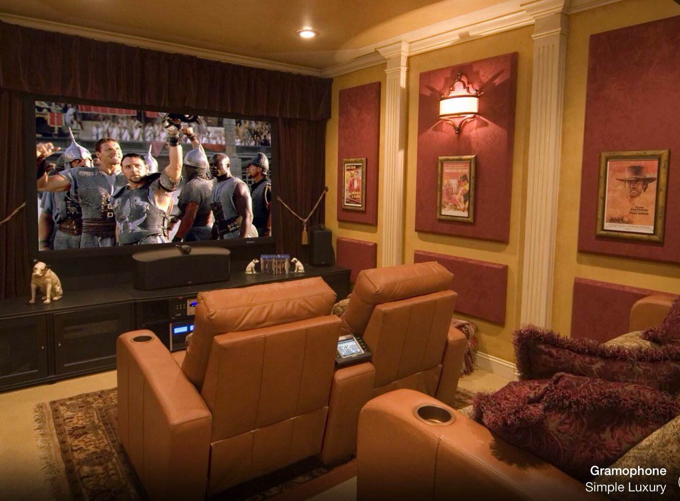 Movie Rooms Small Home Theaters Theater Room Design Modern
