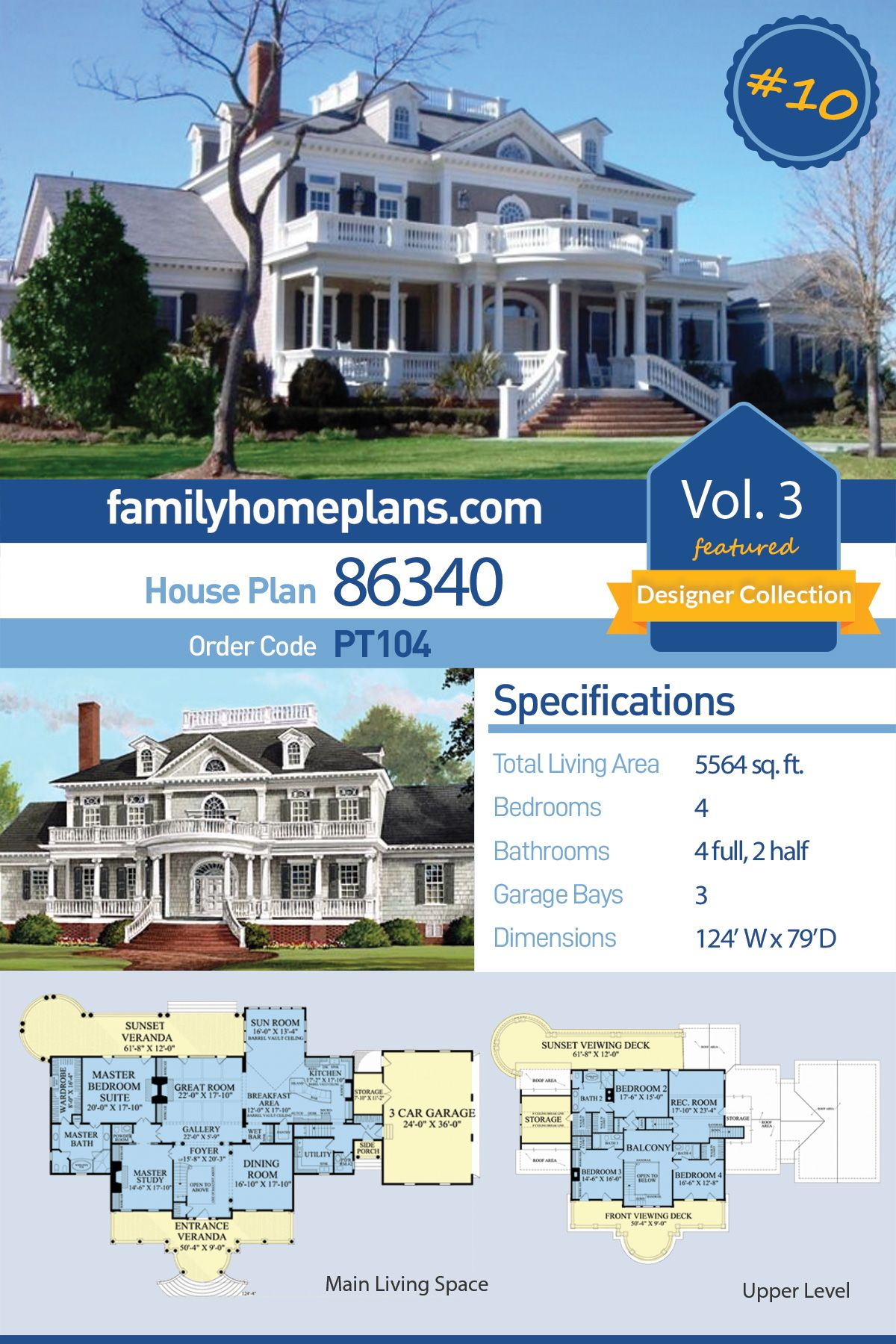 Pin On Best Southern House Plans Collection 3