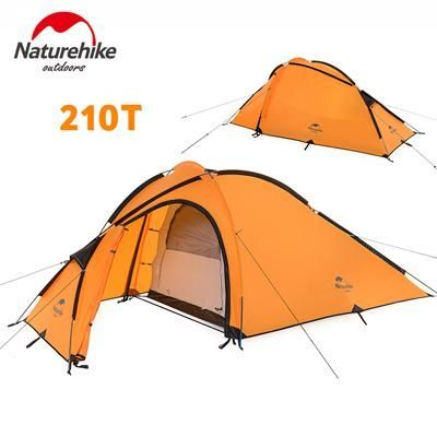 NatureHike Hiby Family Tent 20D Silicone Fabric Waterproof Double-Layer 2 Person 3 Season Aluminum  sc 1 st  Pinterest & NatureHike Hiby Family Tent 20D Silicone Fabric Waterproof Double ...