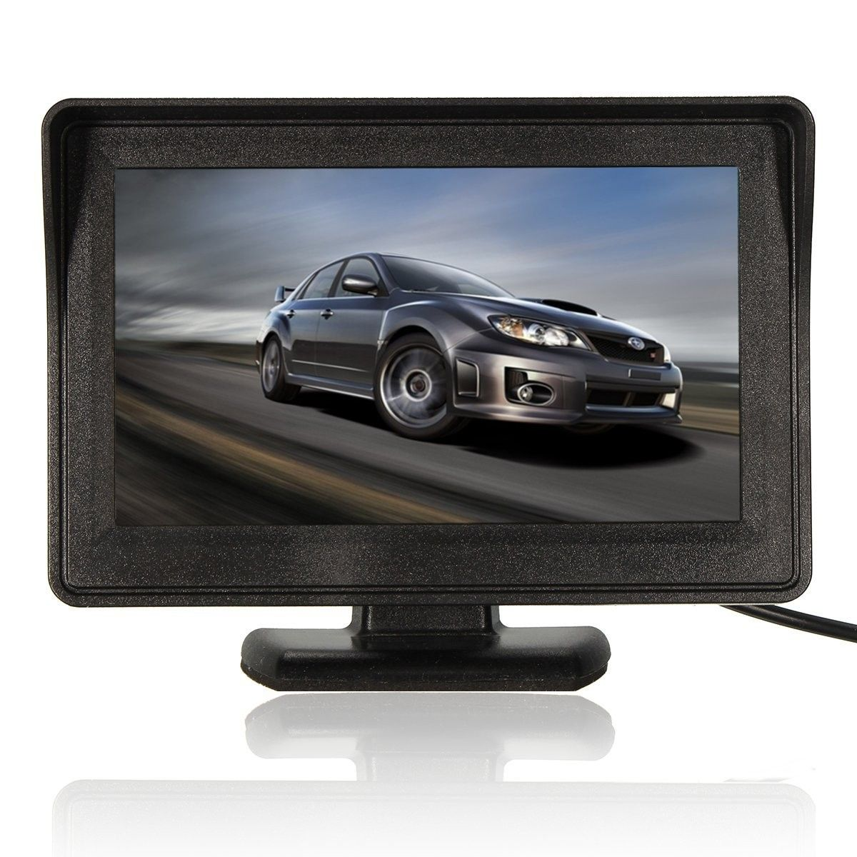 4 3 Inch Car Back Up Camera Car Rear View Monitor Lcd Car Monitor Auto Parts From Automobiles Motorcycles On Banggood Com Car Navigation System Monitor Car Colors