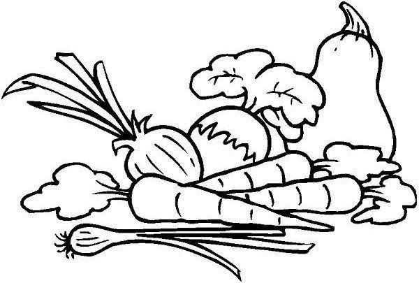 Garden Coloring Pages For Kids Google Search Fruit Coloring Pages Vegetable Coloring Pages Coloring Pages