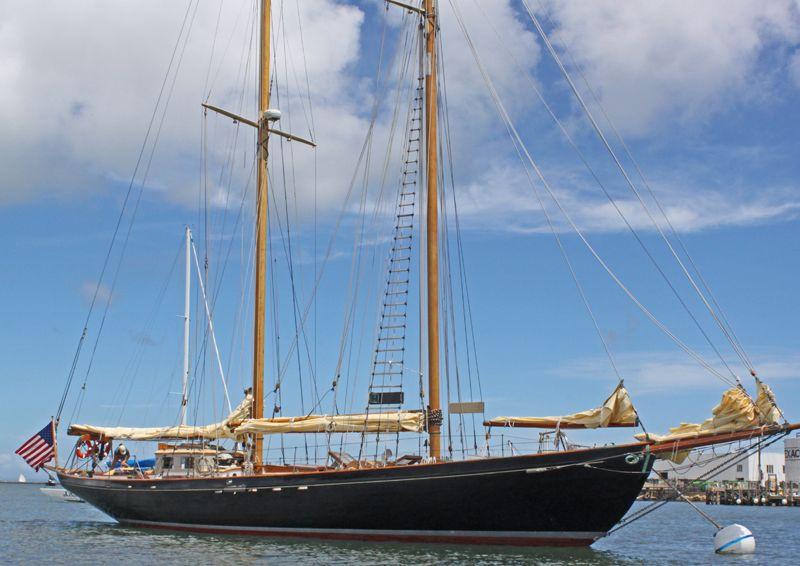Old wooden schooner for sale, wood sailboat wheel, self build ... | Old boats | Boat, Sailing ...