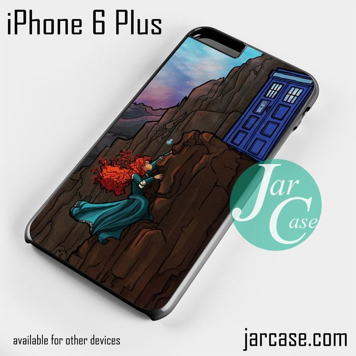 doctor who with merida Phone case for iPhone 6 Plus and other iPhone devices