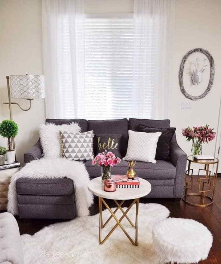 Small Living Room Ideas On A Budget With Images Small Living