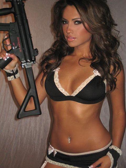 Bikini girls guns #3