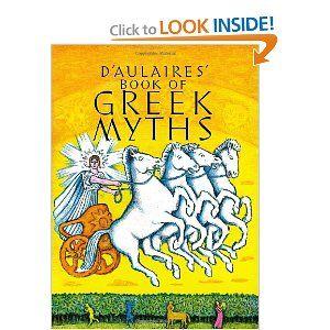 Amazon Com D Aulaires Book Of Greek Myths 9780440406945 Ingri D Aulaire E Greek Myths Books Myths