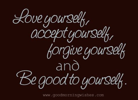 Love Yourself Quotes Simple Good Morning Love Yourself Quotes IYUme Love Is Mater