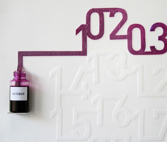 Coolest calendar designs that add flair to the decor   Designbuzz : Design ideas and concepts