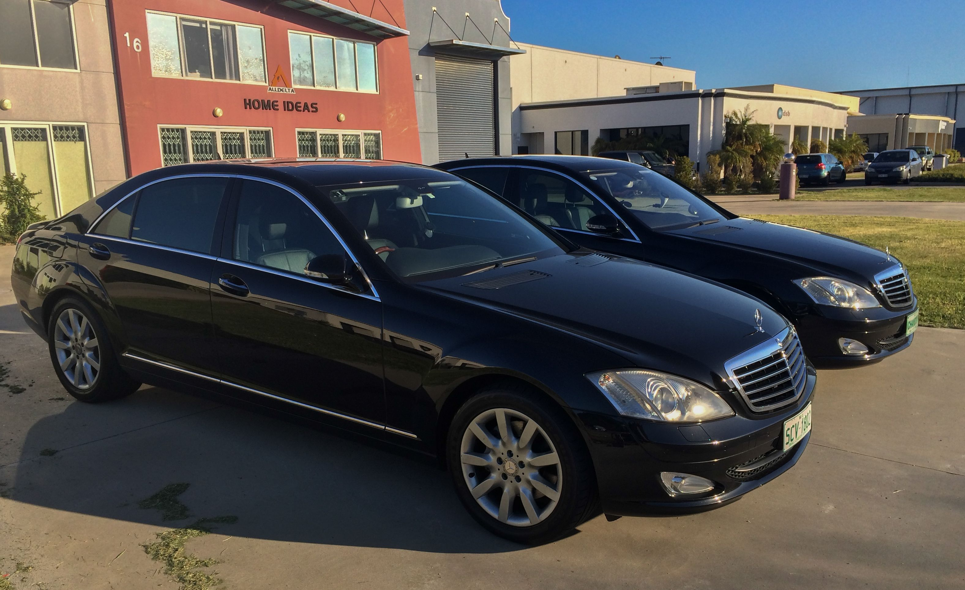 Mercedes Benz S Class for Airport Transfers in Perth,