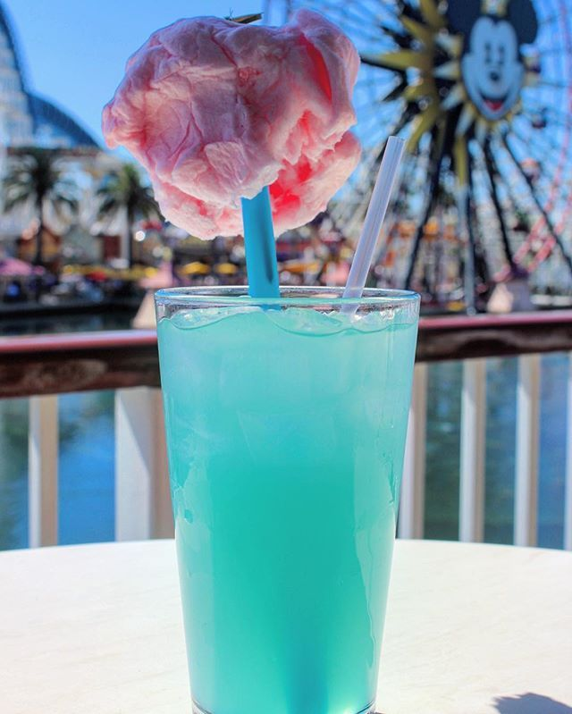 The Cotton Candy Lemonade From The Cove Bar Is The Perfect